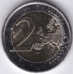 Монета > 2евро, 2018 - Греция  (75 лет со дня смерти Костиса Паламаса) - obverse