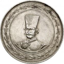 Монета > 1туман, 1884 - Иран  (Серебро /серый цвет/) - obverse