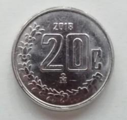 Moneda > 20centavos, 2018 - México  - reverse