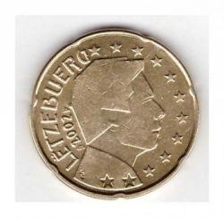 Münze > 20Eurocent, 2002-2006 - Luxemburg   - reverse