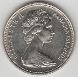 Moneda > 25cents, 1966-1970 - Bahames  - obverse