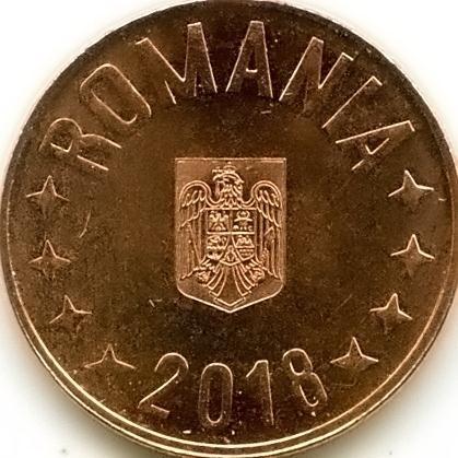 5 Bani 2018 Rumänien Münzen Wert Ucoinnet