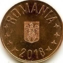 Monedă > 5bani, 2018-2019 - România  - obverse