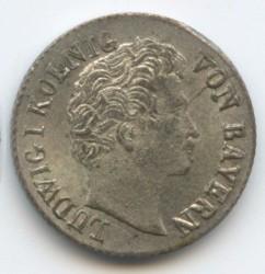 Кованица > 1крајцер, 1830-1836 - Bavaria  - obverse