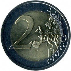 Coin > 2euro, 2018 - Latvia  (100th Anniversary - Baltic States) - obverse
