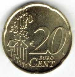 Münze > 20Eurocent, 2006-2007 - Vatikanstadt   - reverse