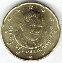 Münze > 20Eurocent, 2008-2013 - Vatikanstadt   - obverse