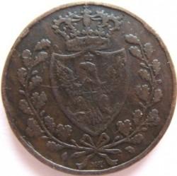 Moneta > 5centesimi, 1826 - Sardegna  - reverse