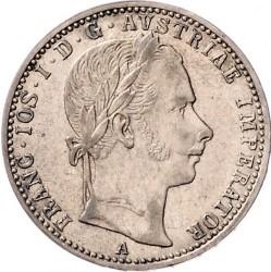 Монета > ¼флорина, 1859-1865 - Австрія  - obverse