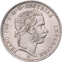 Münze > ¼Florin, 1867-1871 - Österreich   - obverse