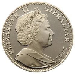 Moneta > 1corona, 2002 - Gibilterra  (La vita della Regina madre) - obverse