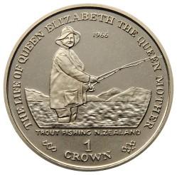 Moneta > 1corona, 2002 - Gibilterra  (La vita della Regina madre) - reverse