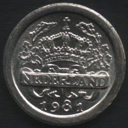 Moneta > 5centów, 1981 - Holandia  (Holandia) - obverse