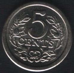 Moneta > 5centów, 1981 - Holandia  (Holandia) - reverse