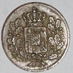 Munt > 1heller, 1839-1856 - Beieren  - obverse
