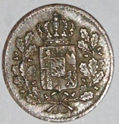 Munt > 1heller, 1839-1856 - Beieren  - reverse