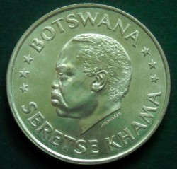 Moneda > 50cents, 1966 - Botswana  (Independència) - obverse