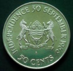 Moneda > 50cents, 1966 - Botswana  (Independència) - reverse