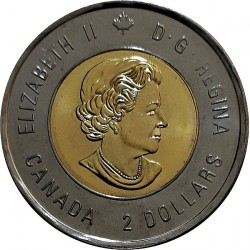 Coin > 2 dollars, 2018 - Canada  (100th Anniversary - End of the First World War) - obverse