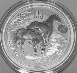 Moneta > 1dollaro, 2014 - Australia  (Anno lunare - Anno del cavallo) - reverse