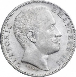 العملة > 2ليرة , 1901-1907 - إيطاليا  - obverse