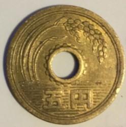 Moneta > 5jenos, 2006 - Japonija  - obverse