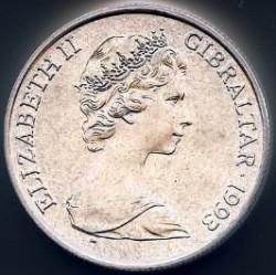 Moneta > 1corona, 1993 - Gibilterra  (Casato di Hannover - Re Giorgio III) - obverse