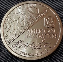 Moneta > 1 doleris, 2018 - JAV  (American Innovation) - reverse