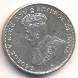 Moneta > 50centesimi, 1919-1929 - Ceylon  - reverse