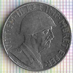Moneda > 1lek, 1939 - Albània  (Magnètica) - reverse