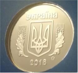 Moneda > 25kopiyok, 2018 - Ucrania  - obverse