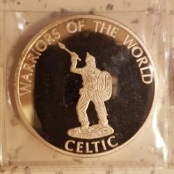 Монета > 10франка, 2010 - Конго - КДР (Световни бойци - Келт) - reverse