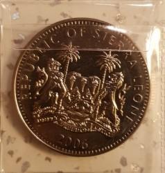 Moneta > 1dollaro, 2006 - Sierra Leone  (500° anniversario -  Posa della prima pietra della Basilica di San Pietro) - obverse