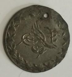 Moneta > 20para, 1839 - Imperium Osmańskie  (Srebro /kolor szary/) - obverse