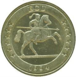 سکه > 1ECU, 1994 - اسپانیا  (Europa - Canary Islands) - obverse