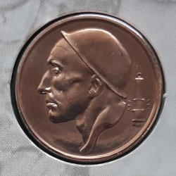 Coin > 50 centimes, 2001 - Belgium  (Legend in Dutch - 'BELGIE') - obverse