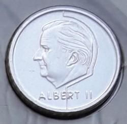 Coin > 50francs, 2001 - Belgium  (Legend in Dutch - 'BELGIE') - obverse