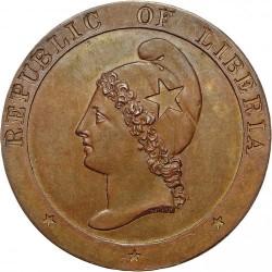 Moneda > 2centavos, 1847 - Liberia  - obverse