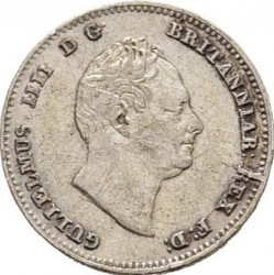 Moneda > ¼gulden, 1832-1835 - Demerara i Essequibo  - obverse