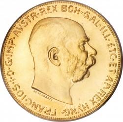 العملة > 100كرونة, 1909-1915 - النمسا  - obverse