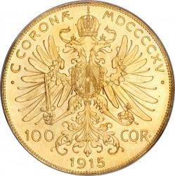 العملة > 100كرونة, 1909-1915 - النمسا  - reverse