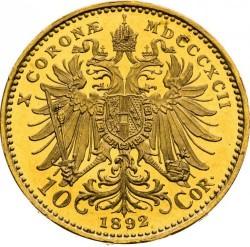 سکه > 10کرونا, 1892-1906 - اتریش   - reverse
