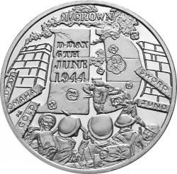 Moneta > 1korona, 2014 - Wyspa Man  (70 rocznica - D-Day) - reverse