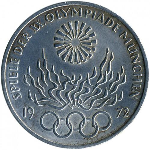 10 Mark 1972 Xx Olympische Sommerspiele Munchen 1972 Deutschland Munzen Wert Ucoin Net