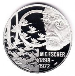 Munt > 5euro, 1998 - Nederland  (Maurits Cornelis Escher) - reverse