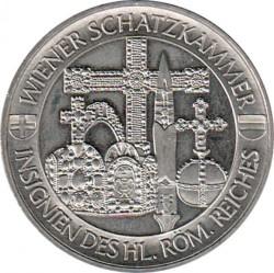 Moeda > 2½euro, 1998 - Áustria  (Wiener Schatzkammer) - reverse