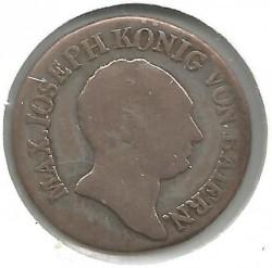 Monedă > 6сreițari, 1806-1825 - Bavaria  - obverse