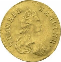 Monedă > 50copeici(poltina), 1777-1778 - Rusia  - obverse