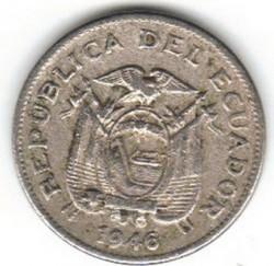 Pièce > 10centavos, 1946 - Équateur  - obverse