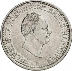 Монета > 1талер, 1834 - Хановер  (Coat of arms on reverse) - obverse